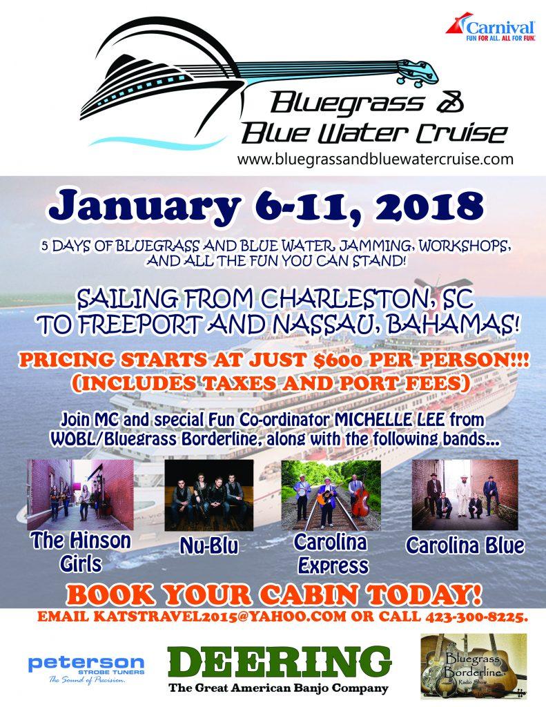 Bluegrass & Blue Water Cruise
